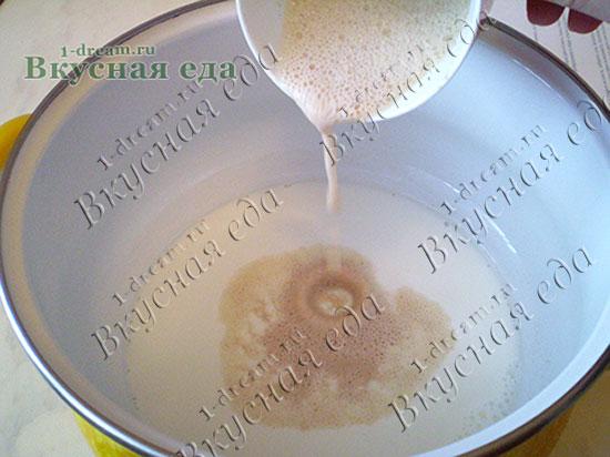 Добавить дрожжи в тесто для пасхального кулича