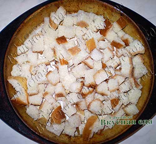 Хлеб для домашних сухариков