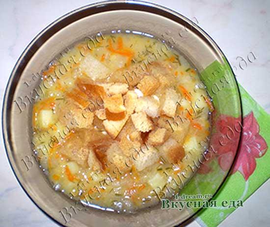 Как варить гороховый суп-рецепт