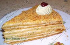 Медовый торт «Чудо»
