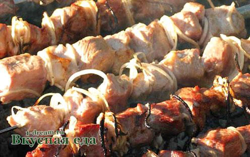 Шашлык из куриного филе рецепт