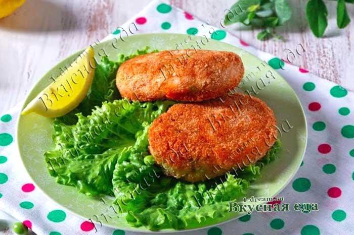 Зразы рыбные рецепт с фото