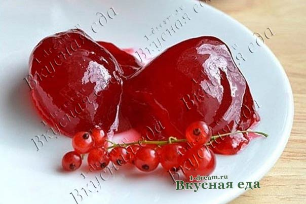 Рецепт желе из красной смородины на зиму