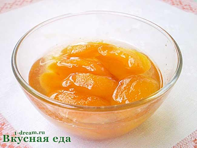 Варенье из персиков на зиму-рецепт с фото