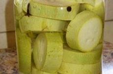 Маринуем кабачки