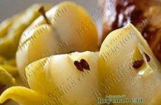 Яблоки маринованные