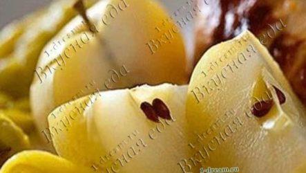 Яблоки маринованные-рецепт с фото