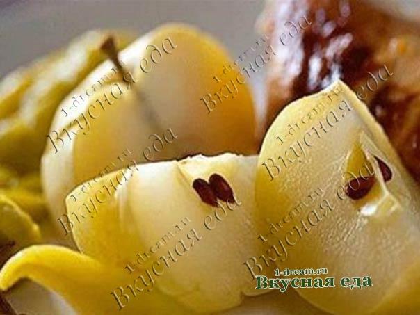 Яблоки маринованные на зиму