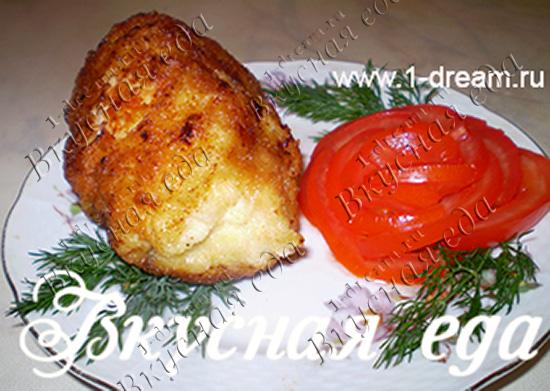 Котлета по киевски рецепт фото