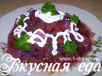 Как приготовить овощное рагу из краснокочанной капусты
