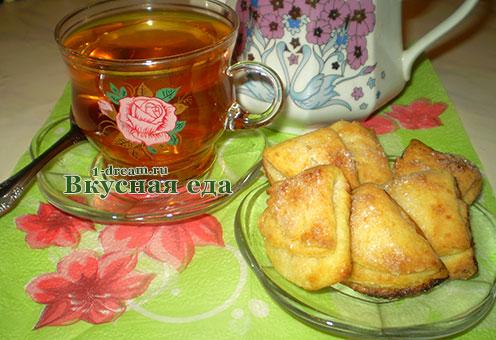 Творожное печенье рецепт к чаю