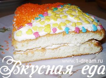 пирожное бисквитное