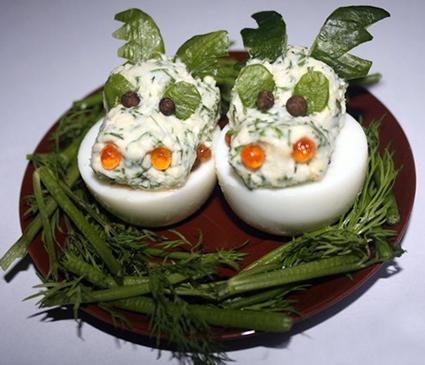Вкусные закуски-голова дракона
