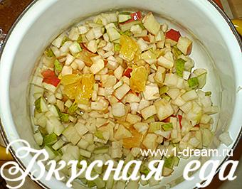 фруктовый салат рецепт