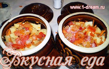 Кладем в жаркое болгарский перец