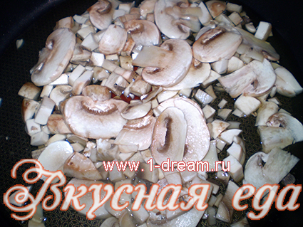 готовим курицу с грибами