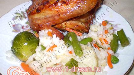 Жареная курица — маринованная по-особому