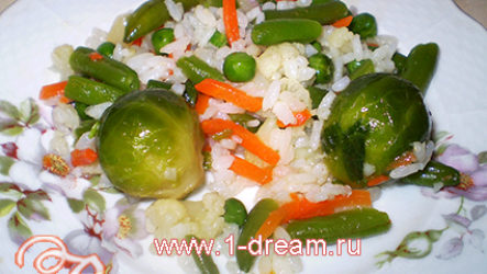 Рис с овощами-рецепт с фото