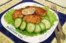 Нежные куриные котлеты с сыром и болгарским перцем