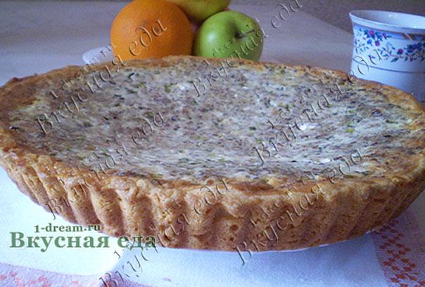 Вкусный пирог с рыбой