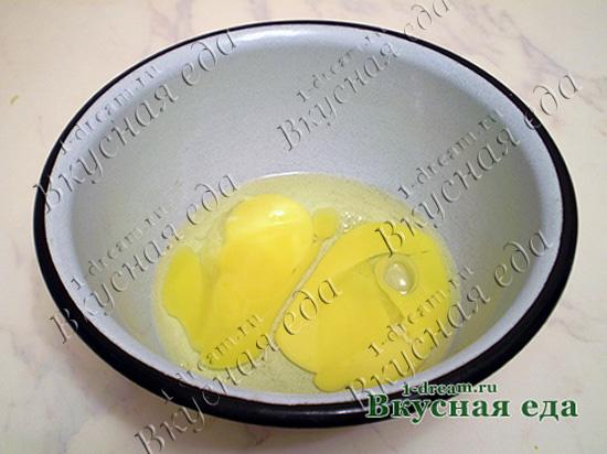 Яйца для песочного пирога
