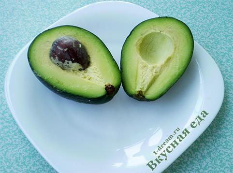 Авокадо для весеннего салата