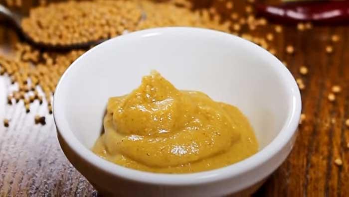 Горчица домашняя на меду