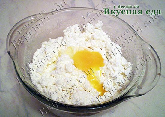 Яйца в начинку для пирога с творогом