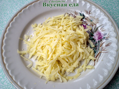 Сыр натереть для куриного филе