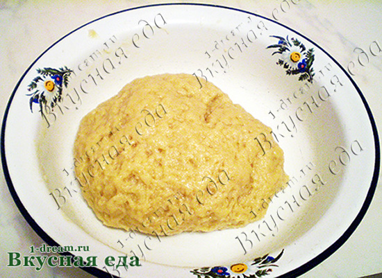 Тесто для песочного пирога с творогом