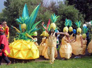 Фестиваль ананаса в Тайланде