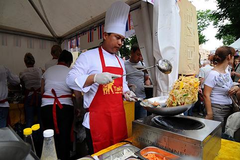 Фестиваль мировой еды в Москве