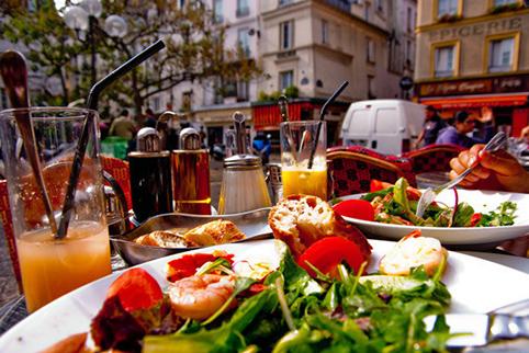 Гастрономический туризм во Францию