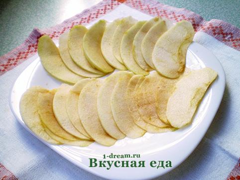 Яблоки для припека