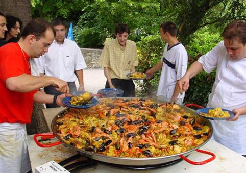 Дегустация испанской паэльи