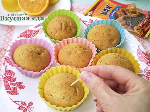 Наколоть лимонный кекс