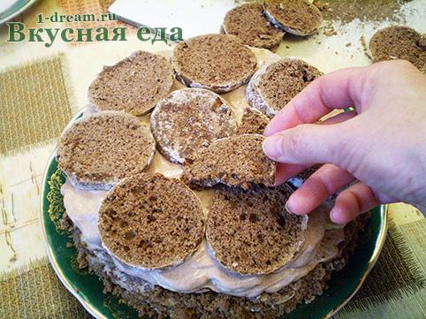 Как сделать торт без выпечки из пряников
