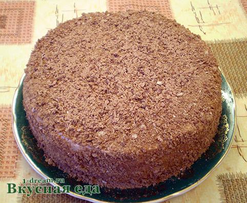 Тертый шоколад на торт из пряников