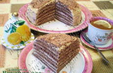 Шоколадный торт «Негритянка»