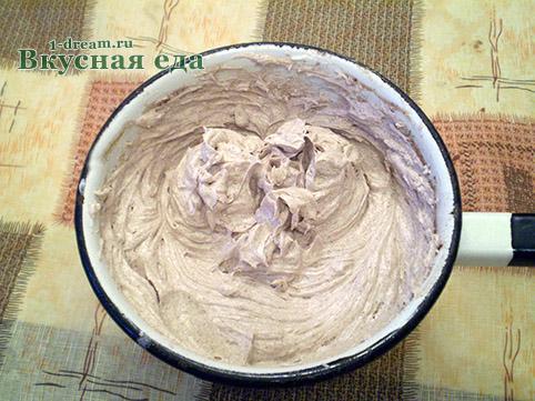 Крем масляный для домашнего торта