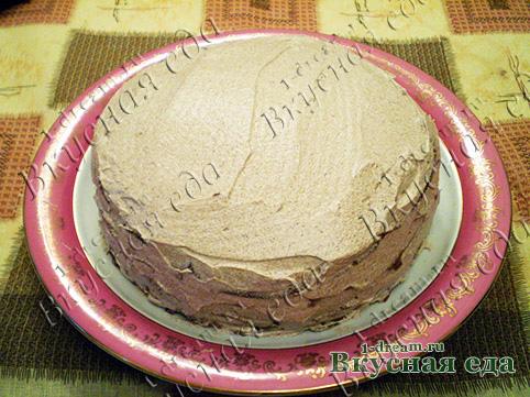 Шоколадный торт на сковроде