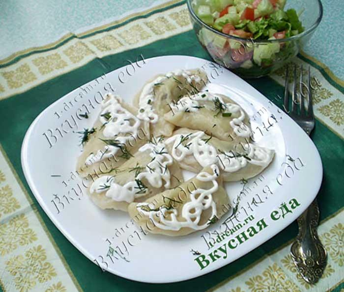 Вареники с картошкой и грибами готовим-рецепт с фото