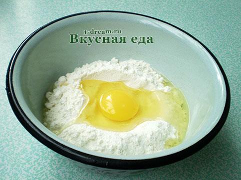 Тесто для вареников с картошкой