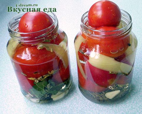 Дамы сколько кг помидоров надо на 3-х литровую банку так