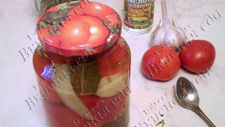 Маринованные помидоры - рецепт с фото