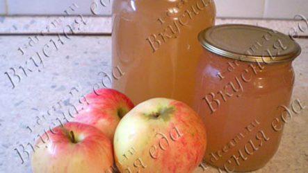 Яблочный сок в соковарке-рецепт с фото