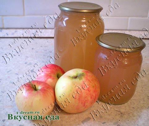 Сок яблочный в соковарке на зиму