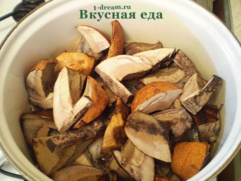 Варить грибы перед маринованием