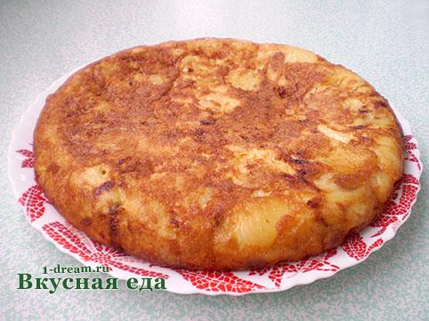 Испанская тортилья готова