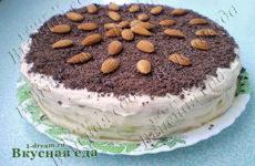 Торт «Нежность» (на сковороде)